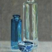 Blauw-flesje